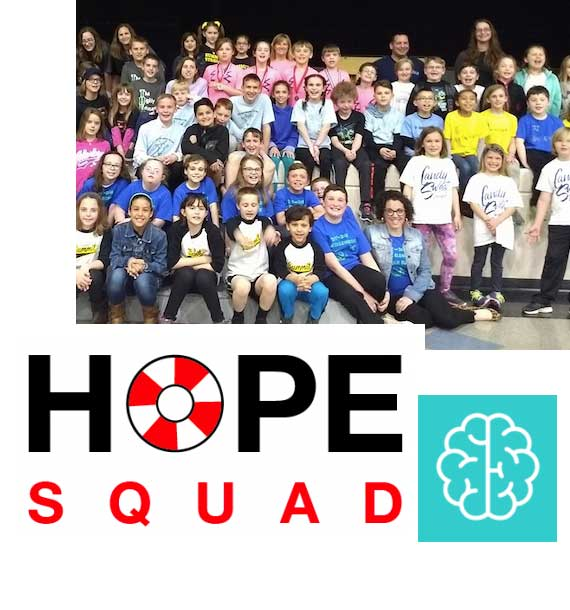 Wellness, hope squad and child focus